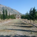 Kirche auf dem Weg nach Shkoder