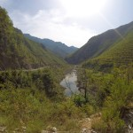 Blick ins Tal in Richtung Shkoder
