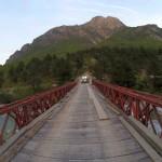 Eine vertrauenserweckende Brücke albanischer Bauart :)