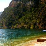 Westseite Gardasee vom Campingplatz aus