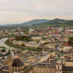 Blick von der hohen Salzburg.
