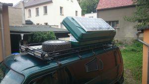 Dachbox für alles was unten keinen Platz mehr findet ;-)