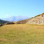 Das Stadion der Festung Amantia