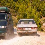 Die alten Benz fahren und fahren... mit Vollgas!