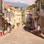 Gjirokastra ... Geburtsstadt des Diktators Enver Hoxha